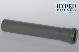 RURA 50 50CM SZARA PCV 0,5METRA kanalizacja