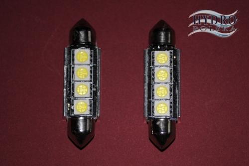Żarówka LED 2,2W 12V C5W RURKA 41mm biała zimna CAN.POSTOJÓWKI