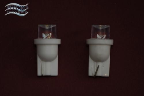 Żarówka LED 0,3W 12V T10 5W5 biała zimna POSTOJÓWKI
