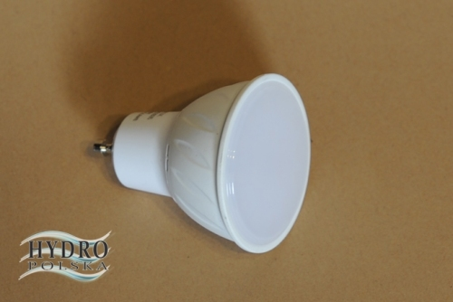 Żarówka 6W 230V Led 18 GU10 smd 2835 biała ciepła