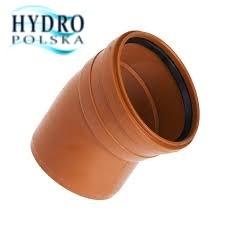 PCV KOLANO 160/30 ORANGE POLSKI PRODUKT