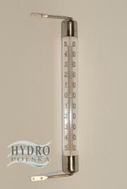 Termometr zewnętrzny zaokienny 02061 rurkowy -50+50/c VIKING