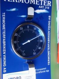 Termometr zewnętrzny zaokienny 318 tarczowy -50+50/c VIKING